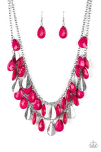 Load image into Gallery viewer, Life of the FIESTA - Pink Necklace