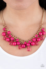 Load image into Gallery viewer, Tour de Trendsetter - Pink Necklace - SavvyChicksJewelry