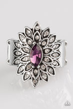 Load image into Gallery viewer, Blooming Fireworks - Purple Ring - SavvyChicksJewelry