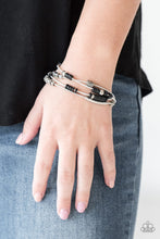 Load image into Gallery viewer, Tribal Spunk - Black Bracelet - SavvyChicksJewelry