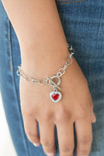 Load image into Gallery viewer, Going Steady - Red Bracelet - SavvyChicksJewelry