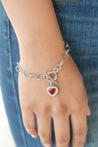 Going Steady - Red Bracelet - SavvyChicksJewelry