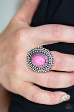 Load image into Gallery viewer, Terra Terrain - Pink Ring - SavvyChicksJewelry