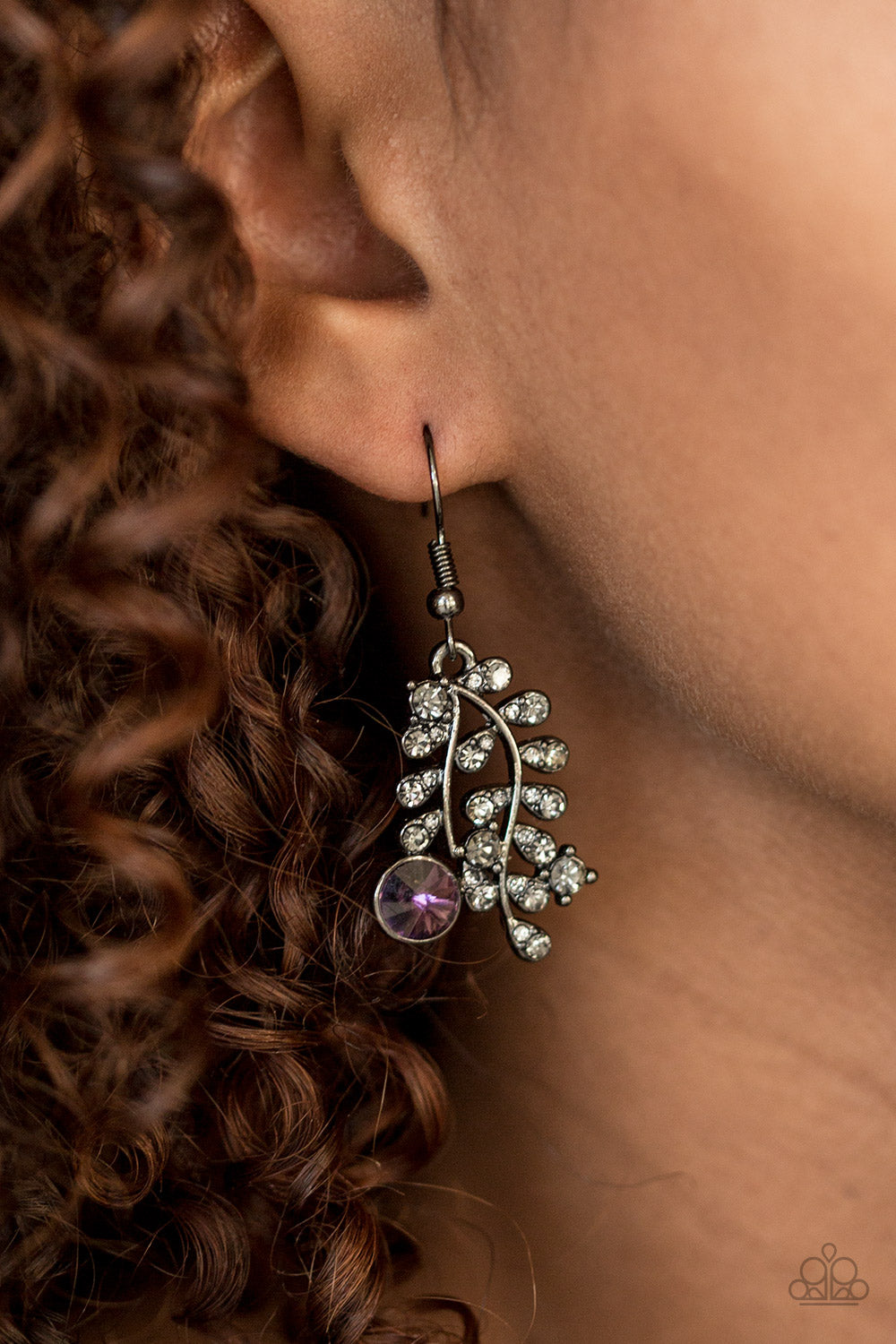 Make You Vine - Purple Earrings - SavvyChicksJewelry