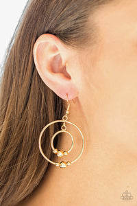 Center of Attraction - Gold Earrings - SavvyChicksJewelry