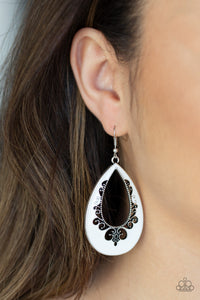 Compliments to the CHIC - White Earrings - SavvyChicksJewelry