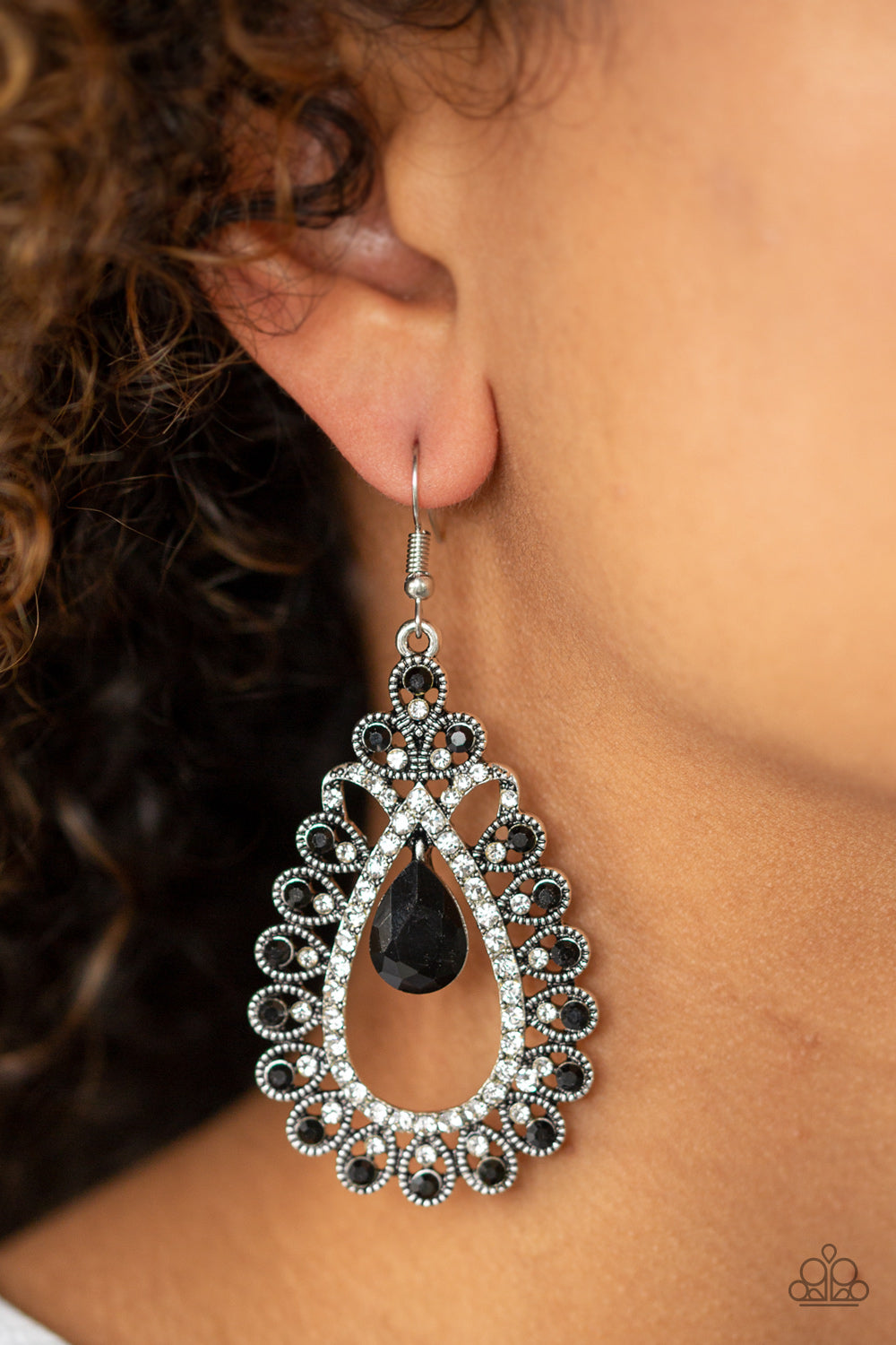 All About Business - Black Earrings - SavvyChicksJewelry