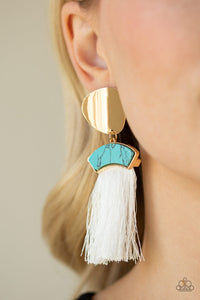 Insta Inca - Blue Earrings - SavvyChicksJewelry