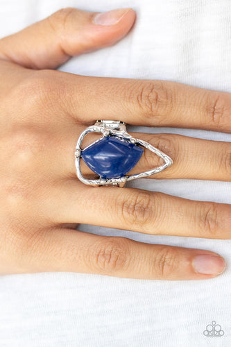 Get the Point - Blue Ring - SavvyChicksJewelry