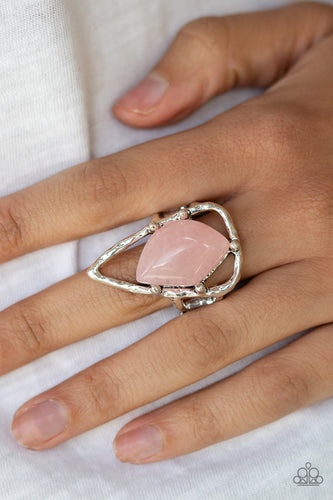 Get the Point - Pink Ring - SavvyChicksJewelry