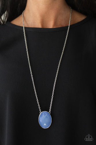 Intensely Illuminated - Blue Necklace - SavvyChicksJewelry