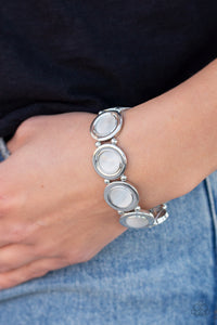 Muster Up the Luster - White Bracelet - SavvyChicksJewelry