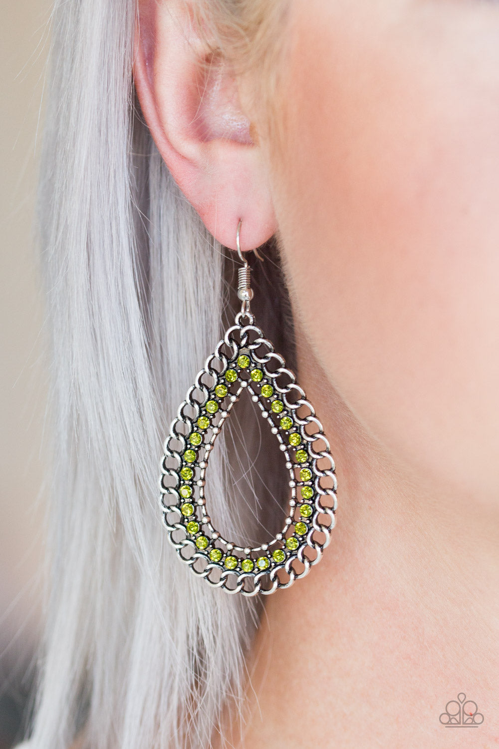 Mechanical Marvel - Green Earrings - SavvyChicksJewelry