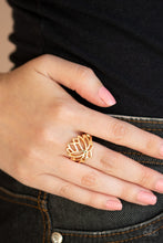 Load image into Gallery viewer, Lotus Lover - Gold Ring - SavvyChicksJewelry