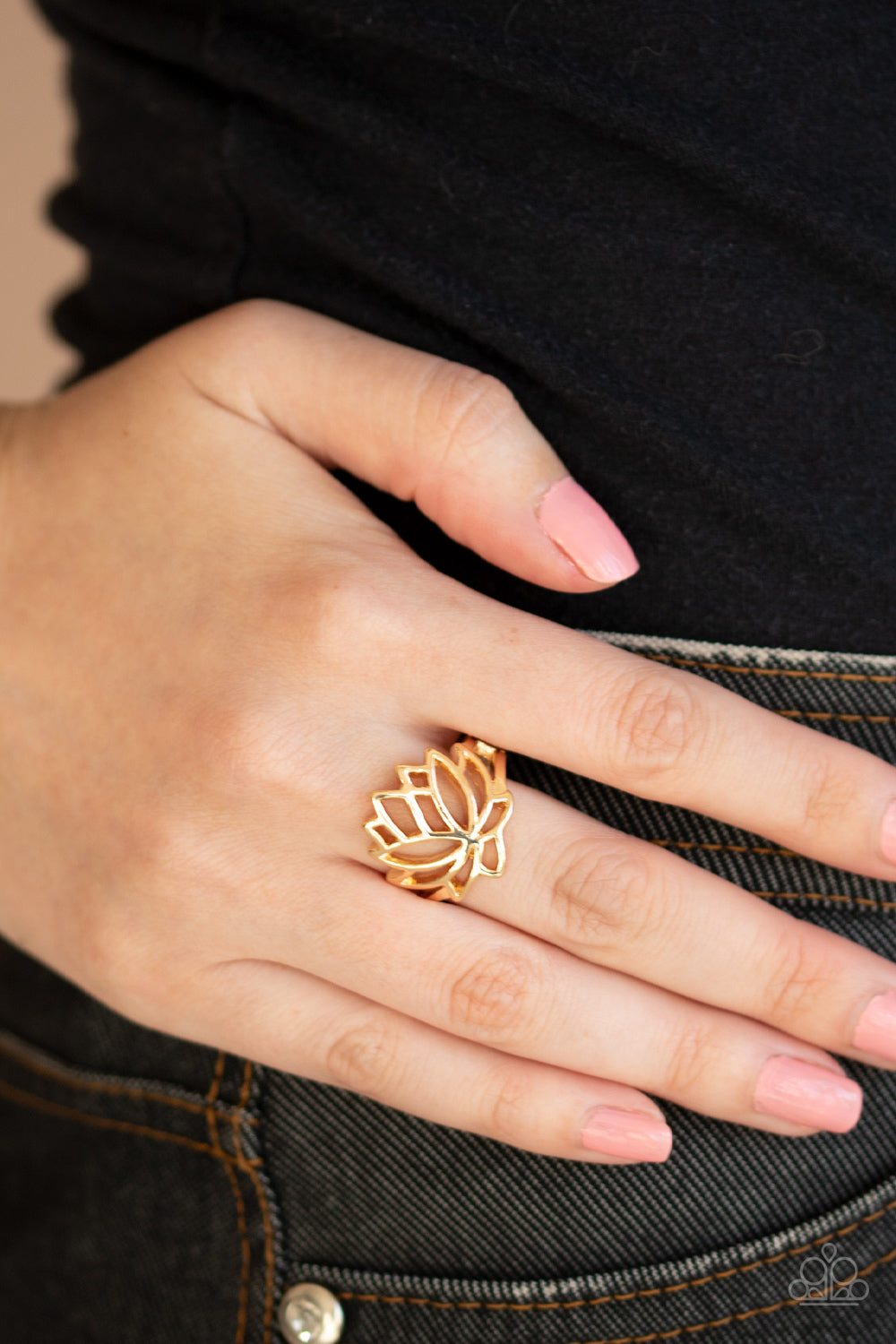 Lotus Lover - Gold Ring - SavvyChicksJewelry