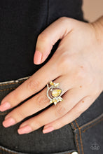 Load image into Gallery viewer, Eden Elegance - Yellow Ring - SavvyChicksJewelry