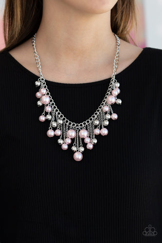 City Celebrity - Pink Necklace - SavvyChicksJewelry