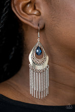 Load image into Gallery viewer, Scattered Storms - Blue Earrings