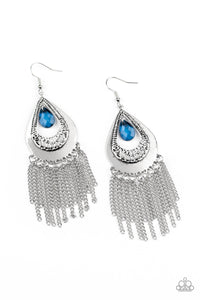 Scattered Storms - Blue Earrings
