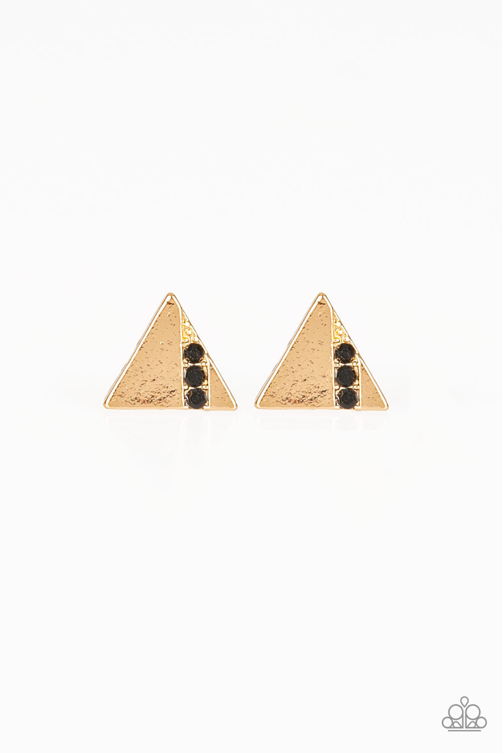 Pyramid Paradise - Black Earrings - SavvyChicksJewelry