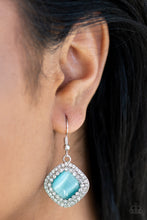 Load image into Gallery viewer, Glam Glow - Blue Paparazzi Earrings - SavvyChicksJewelry