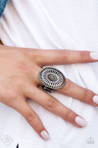 Grate Expectations - Green Paparazzi Ring - SavvyChicksJewelry