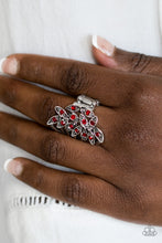 Load image into Gallery viewer, Perrenial Paradise - Red Paparazzi Ring - SavvyChicksJewelry