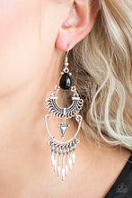 Load image into Gallery viewer, Progressively Pioneer - Black Earrings - SavvyChicksJewelry