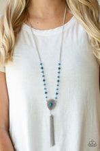 Load image into Gallery viewer, Soul Quest - Blue Necklace - SavvyChicksJewelry