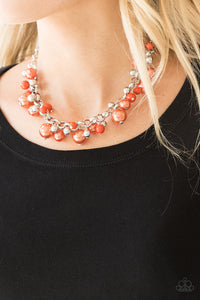 The Upstater - Orange Necklace - SavvyChicksJewelry