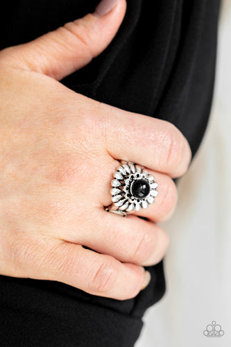 Peppy Pep - Black Ring - SavvyChicksJewelry