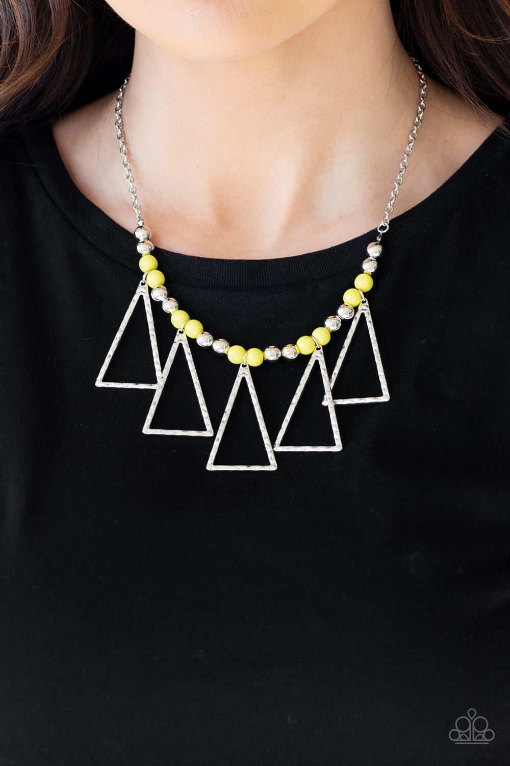 Terra Nouveau - Yellow Necklace - SavvyChicksJewelry