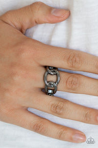 Well Connected - Black Ring - SavvyChicksJewelry