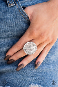 Lined Up - Silver Ring - SavvyChicksJewelry