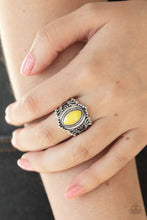 Load image into Gallery viewer, Tangy Texture - Yellow Ring - SavvyChicksJewelry