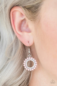 A Proper Lady - Pink Paparazzi Earrings - SavvyChicksJewelry