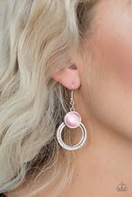 Load image into Gallery viewer, Dreamily Dreamland - Pink Earrings - SavvyChicksJewelry
