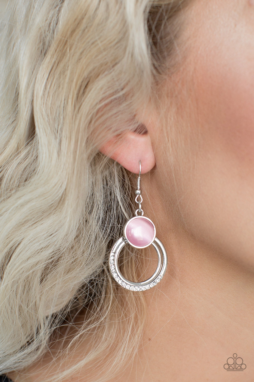 Dreamily Dreamland - Pink Earrings - SavvyChicksJewelry
