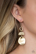 Load image into Gallery viewer, Melting Pot - Brass Earrings - SavvyChicksJewelry