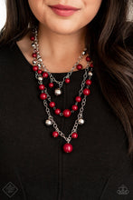 Load image into Gallery viewer, The Partygoer - Red Necklace - SavvyChicksJewelry
