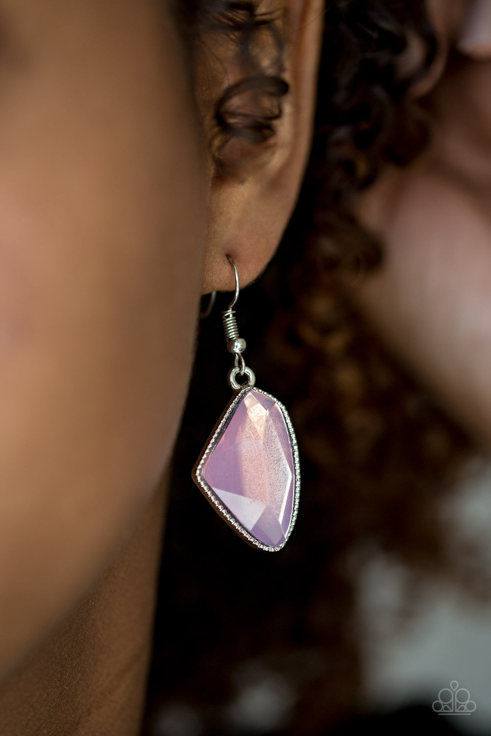 Mystic Mist - Pink Earrings - SavvyChicksJewelry
