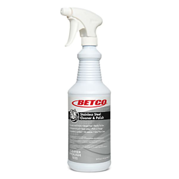 BETCO STAINLESS STEEL CLEANER & POLISH - 946mL (6/case) - G3320