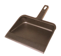"12"" BLACK PLASTIC DUST PAN (12/case)"