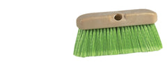"10"" WASH BRUSH HEAD - GREEN BRISTLES (10/box)"