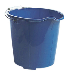 10 qt UTILITY PAIL w/SPOUT - Red (12/case)