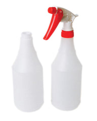 24oz PLASTIC ROUND BOTTLE (98/case)