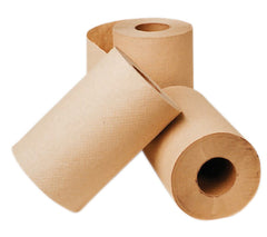 "P-H035A1 SELECT 8"" KRAFT ROLL TOWELS - 350', 12 rolls/case"