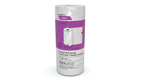 5-K070A1 SELECT 2 ply HOUSEHOLD ROLL TOWELS - 70sht/roll, 30 rolls/case - P1405