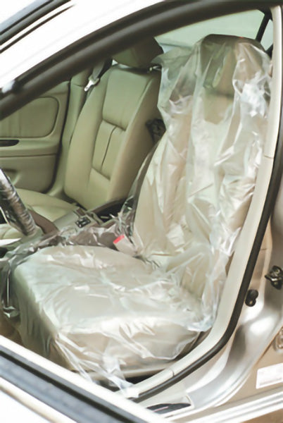 "PTO POLY SEAT COVERS 32"" x 32"" - 500/roll - V6895"