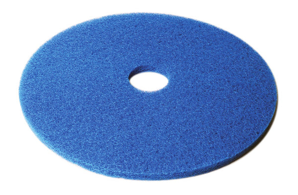 "CHECKERS 20"" BLUE FLOOR PAD (5/case) - F5212"